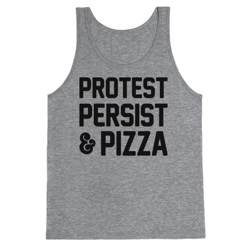 Protest Persist & Pizza Tank Top