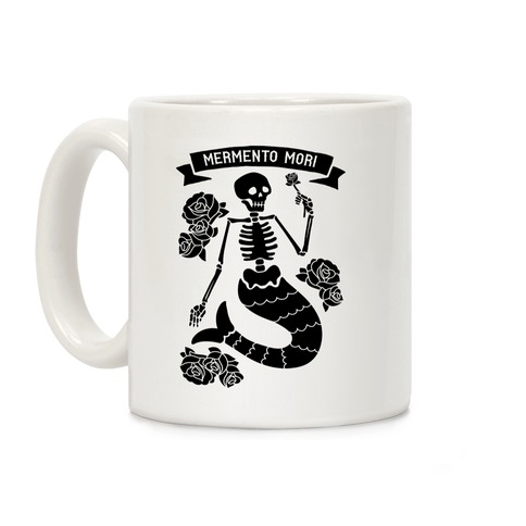 Mermento Mori Mermaid Coffee Mug