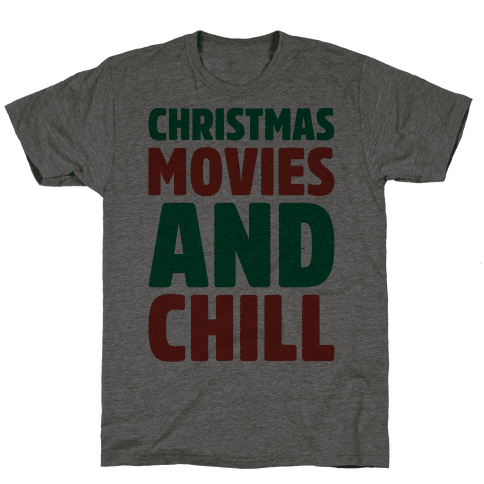 Christmas Movies and Chill Parody
