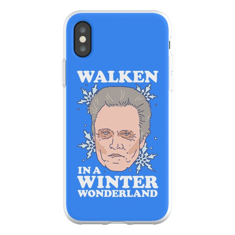 Walken in a Winter Wonderland Phone Flexi-Case