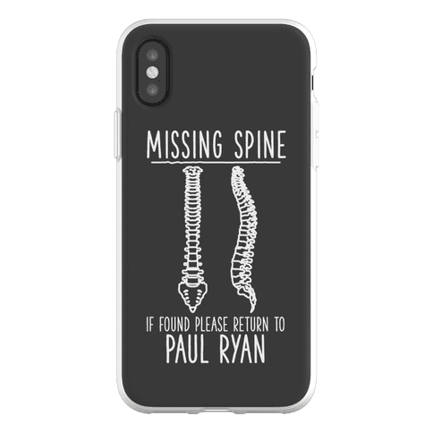Missing Spine Phone Flexi-Case