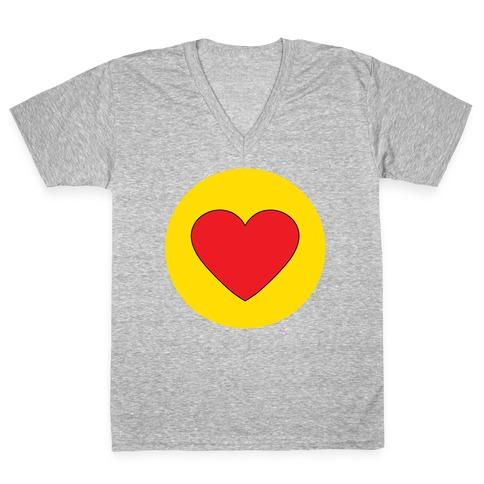 HEART! V-Neck Tee Shirt