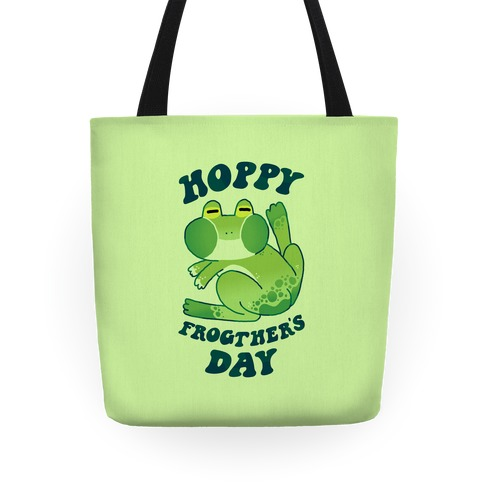 Hoppy Frogther's Day Tote