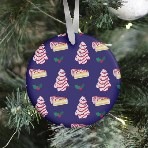 Holiday Tree Cake Pattern Ornament