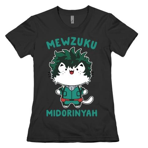 Mewzuku Midorinyah Womens T-Shirt