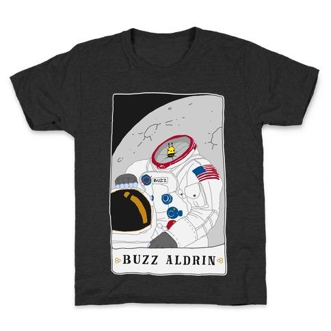 Buzz Aldrin Bee Kids T-Shirt