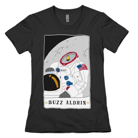 Buzz Aldrin Bee Womens T-Shirt