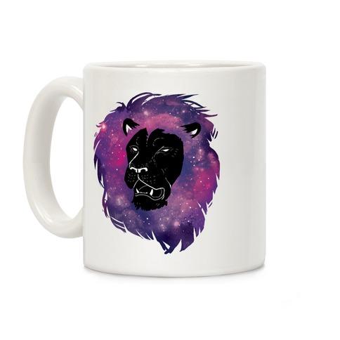 Galaxy Lion Coffee Mug