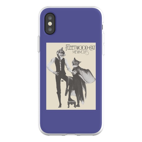 Fleetwood Cat Mewmours Mashup Phone Flexi-Case