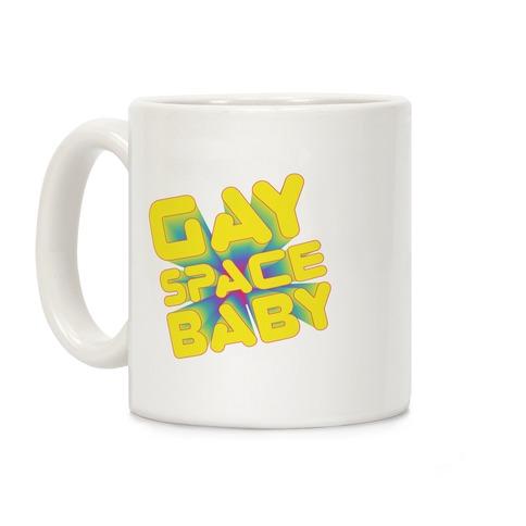 Gay Space Baby Coffee Mug
