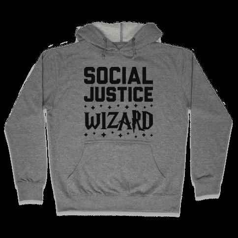Social Justice Wizard Hooded Sweatshirt