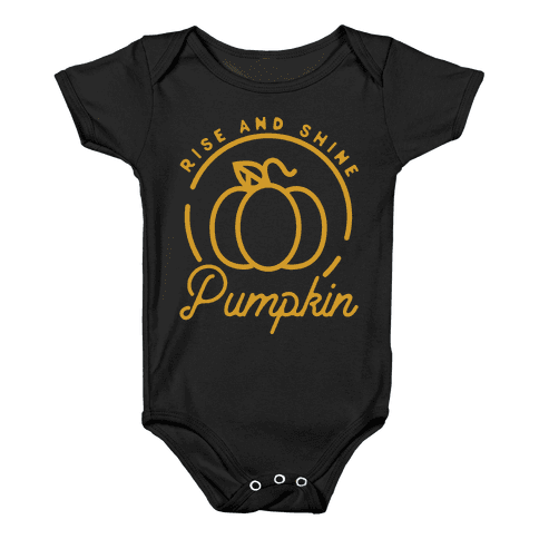 Rise and Shine Pumpkin Baby Onesy