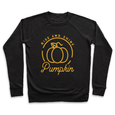 Rise and Shine Pumpkin Pullover