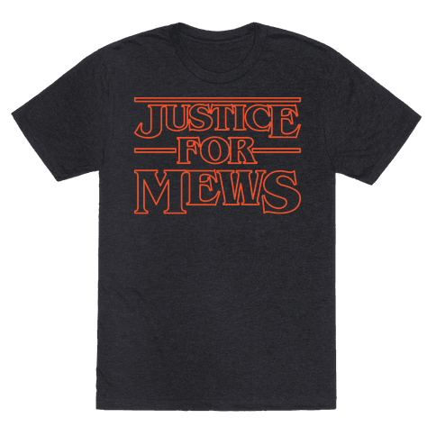 Justice For Mews White Print