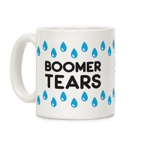 Boomer Tears Coffee Mug