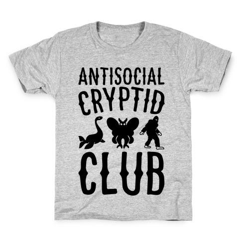 Antisocial Cryptid Club Kids T-Shirt