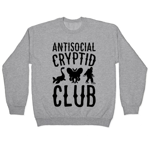 Antisocial Cryptid Club Pullover