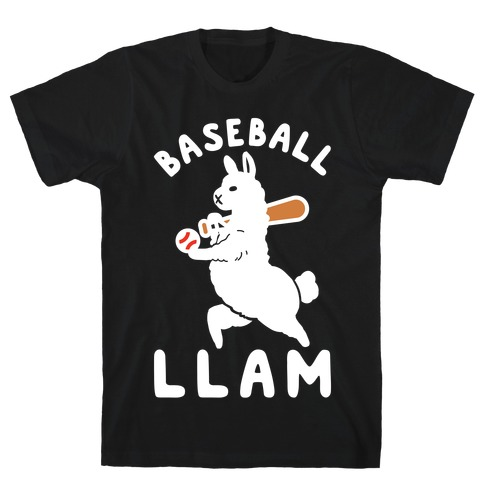 Baseball Llam T-Shirt