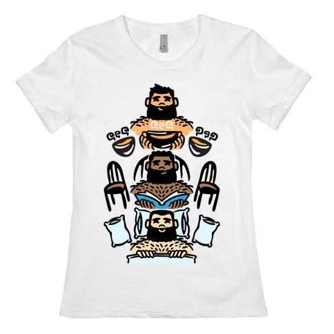 The 3 Bears Womens T-Shirt