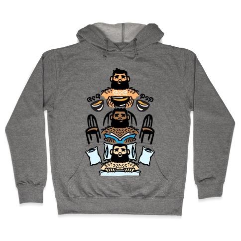The 3 Bears Hooded Sweatshirt