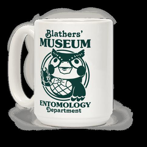 Blathers' Museum Entomology Department Coffee Mug