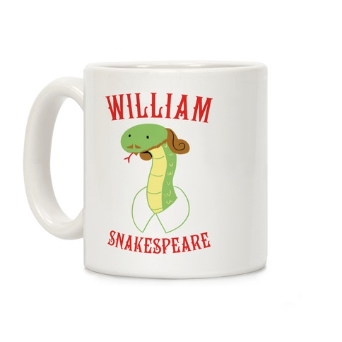 William Snakespeare Coffee Mug