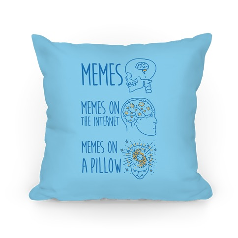Mind Expansion Memes on a Pillow Pillow