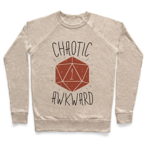 Chaotic Awkward Pullover