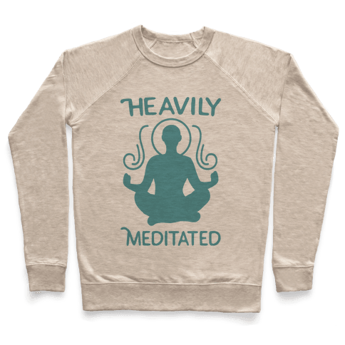 Heavily Meditated Pullover