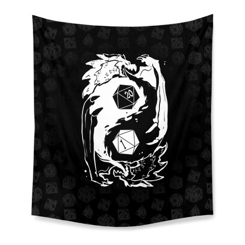 Dungeons and Dragons Yin Yang Tapestry