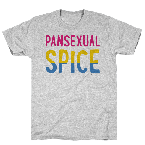 Pansexual Spice Mens T-Shirt