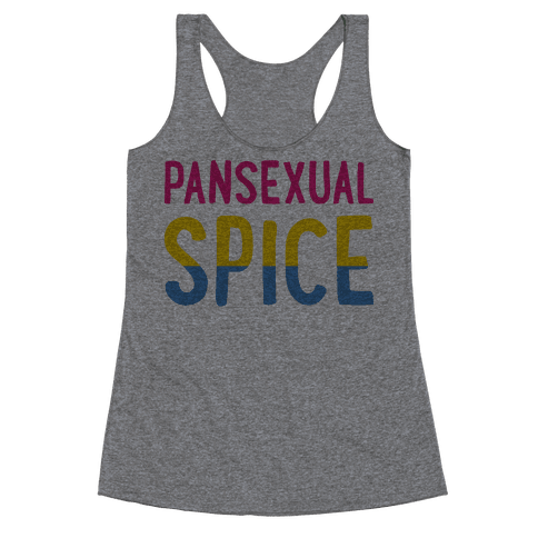 Pansexual Spice Racerback Tank Top