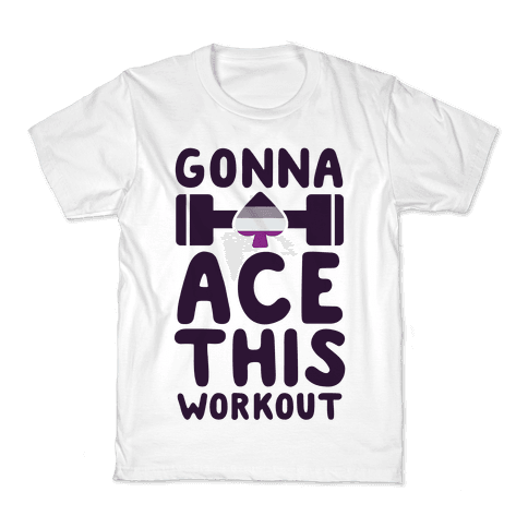 Gonna Ace This Workout Kids T-Shirt