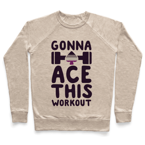 Gonna Ace This Workout Pullover