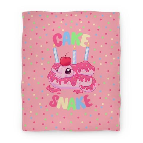 Cake Snake Blanket
