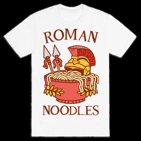 Roman Noodles Mens/Unisex T-Shirt