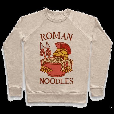 Roman Noodles Pullover