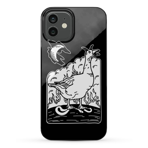 The Devil (Goose Parody) Phone Case