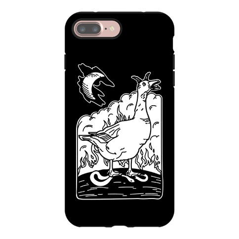 The Devil (Goose Parody) Phone Case