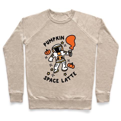 Pumpkin Space Latte Astronaut Pullover