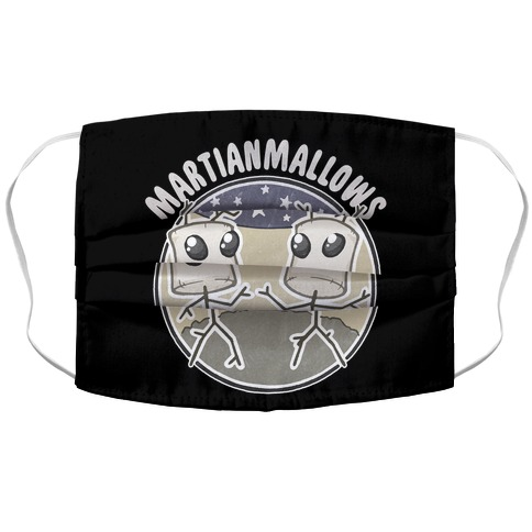 Martianmallows Accordion Face Mask