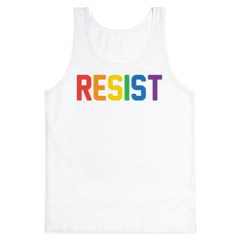 LGBTQ+ Resist Tank Top