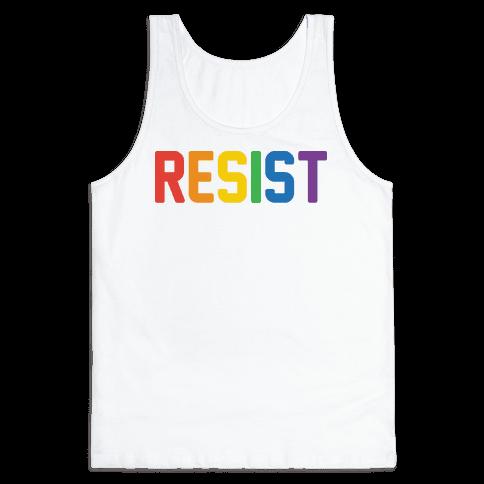 LGBTQ+ Resist Tank Top