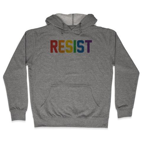 LGBTQ+ Resist Hooded Sweatshirt