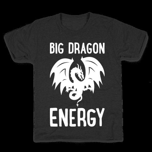 Big Dragon Energy Kids T-Shirt