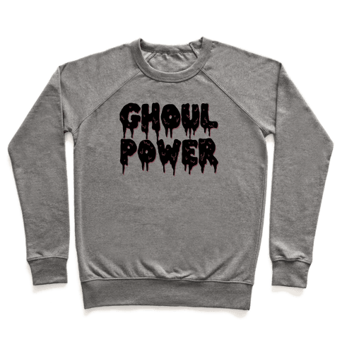 Ghoul Power Pullover