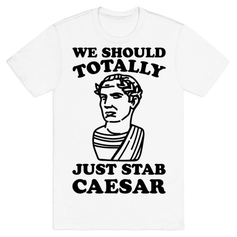 We Should Totally Just Stab Caesar Mean Girls Parody T-Shirt