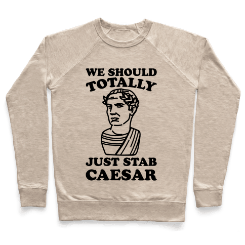We Should Totally Just Stab Caesar Mean Girls Parody Pullover