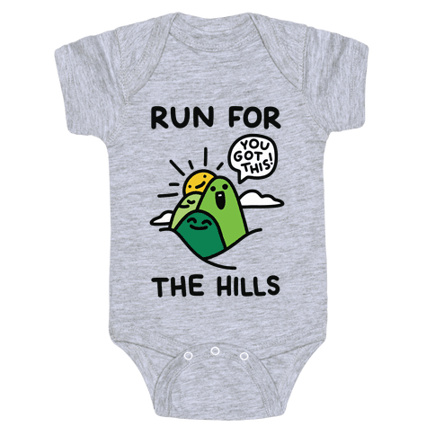 Run For The Hills Baby One-Piece