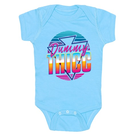 Retro and Dummy Thicc Baby One-Piece